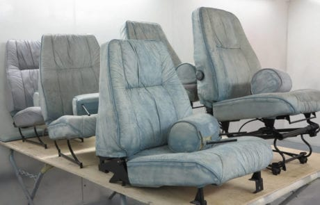 Leather seat, airplane leather seats restoration