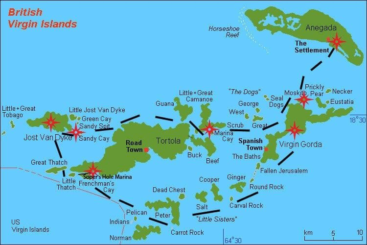 BVI map-route