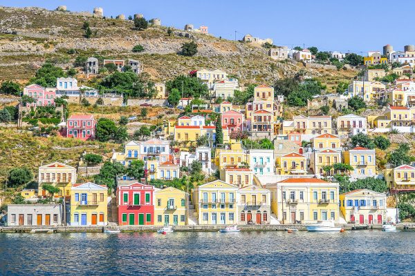 Yacht Charter Greece view of Symi