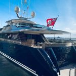 motor yacht and a luxury sailing holiday