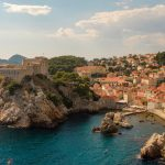 the walled city of Dubrovnik in croatia