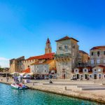 View of a street and town on one of our croatia sailing holidays
