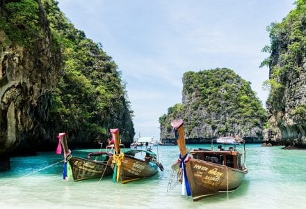 yacht charter Thailand longtail