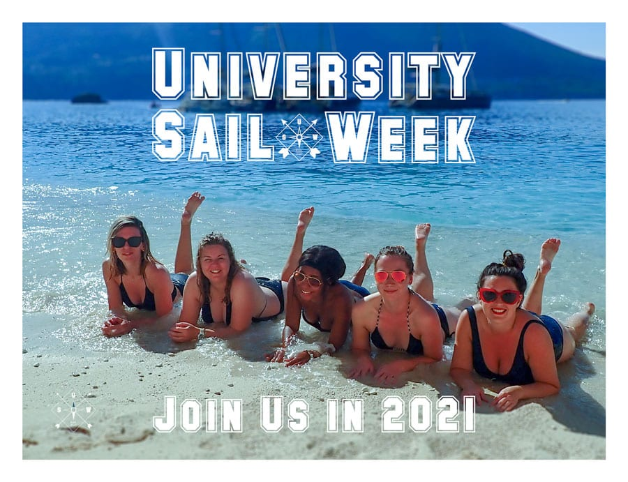 SailChecker University Sail Week